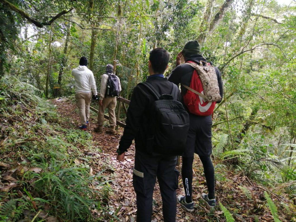 Evalúan las condiciones del Sendero Los Quetzales 4 1030x773