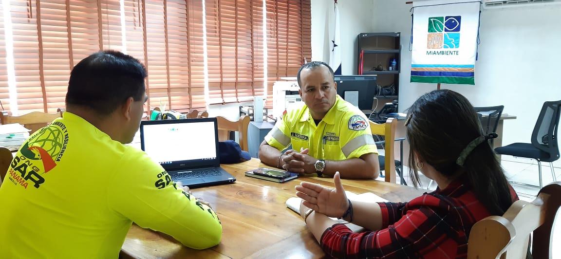 MiAMBIENTE y ONG SAR Panamá reafirman alianza de trabajo